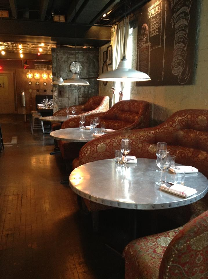 Lounge seating at Fork & Wench