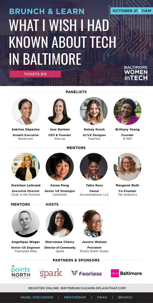 Baltimore Women In Tech - Baltimore Design Week 2018