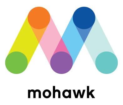 Mohawk Paper logo - design week 2018 sponsor