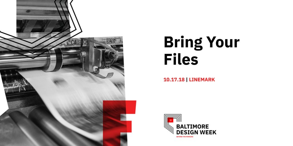 AIGA Baltimore Design Week Bring Your Files