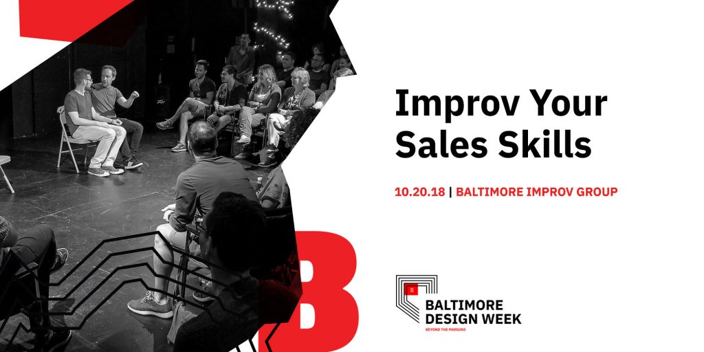 AIGA Baltimore Design Week Improv Your Sales Skills event