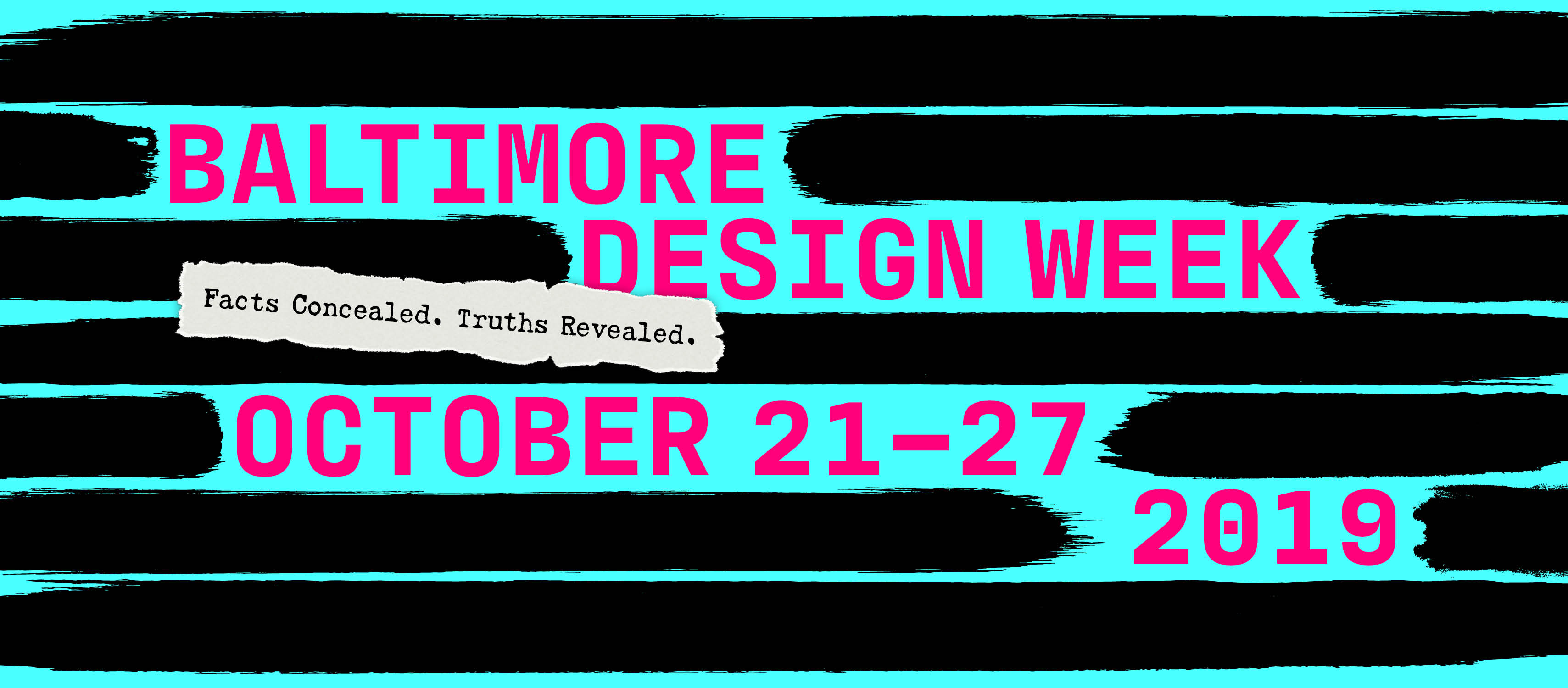 Baltimore Design Week 2019 Banner
