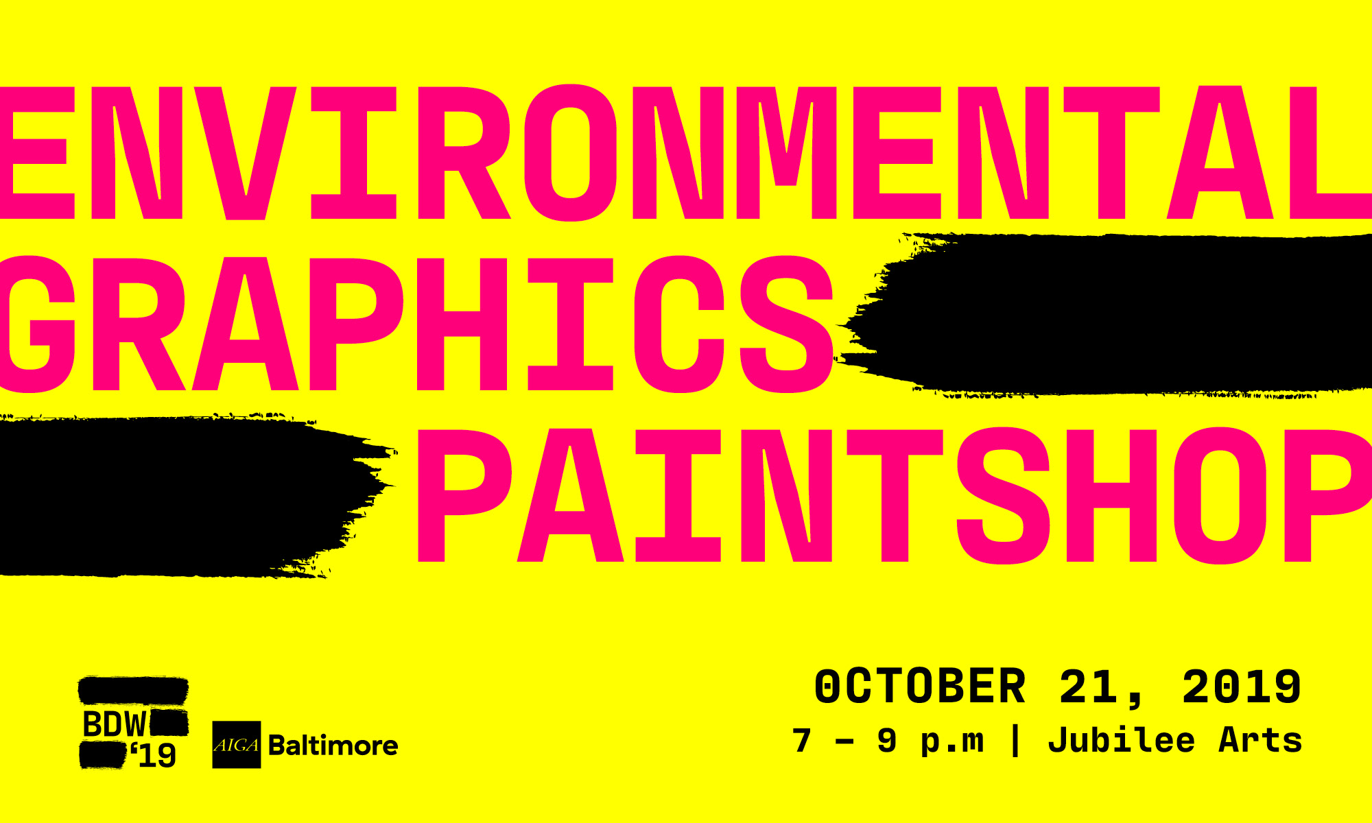 environmental graphics paint workshop