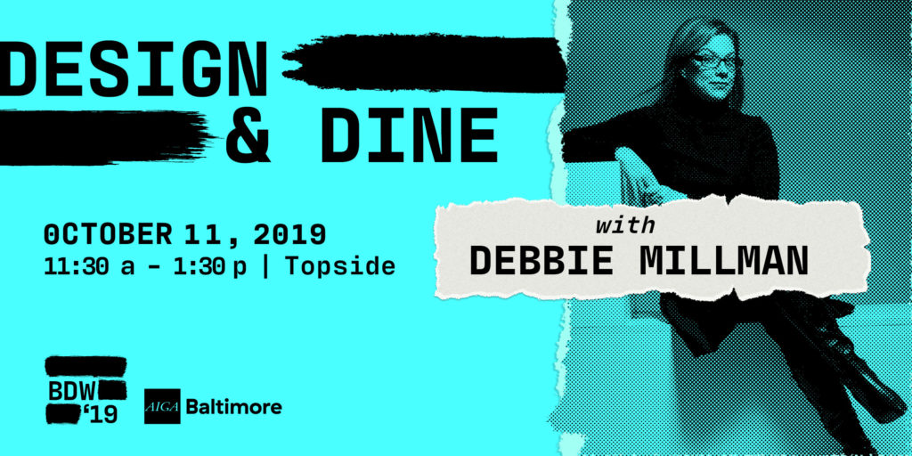 design & dine with debbie millman 2019 design week