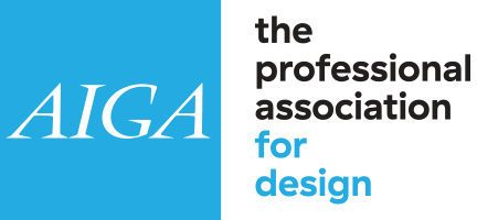 AIGA The Professional Association for Design logo