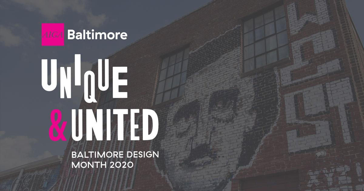 Baltimore Design Week 2019 Banner